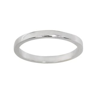 NEXTE Jewelry Squared Contoured Fit Band (2 mm)