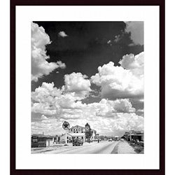 Andreas Feininger 'Texaco Gas Station on Route 66, Arizona' Framed Print