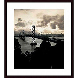 Mansell 'San Francisco-Oakland Bay Bridge, 1938' Wood-framed Art Print