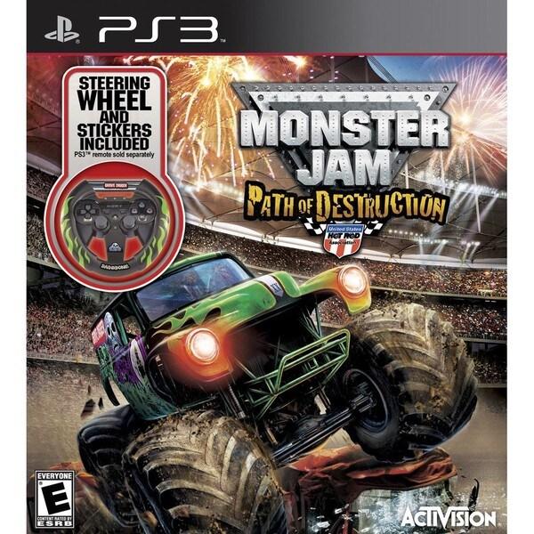 PS3 - Monster Jam 3: Path of Destruction