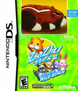 Nintendo DS - Zhu Zhu Pets 2: Featuring The Wild Bunch (Limited Edition) - By Activision Inc