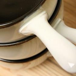 Sango Nova Black 4-piece Onion Soup Bowl Set - Thumbnail 1