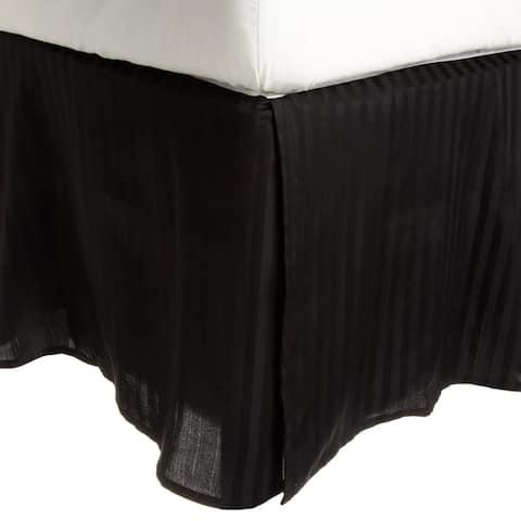 Miranda Haus Safa Stripe 15-inch Drop Egyptian Cotton Bed Skirt