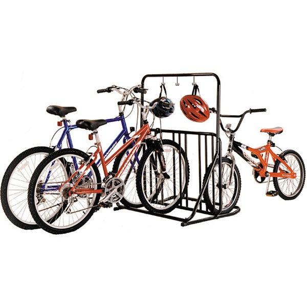 6-bike Deluxe Park Stand with Accessory Bar
