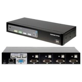 Connectpro UR-14-PLUS-KIT 4-port VGA KVM with Cables