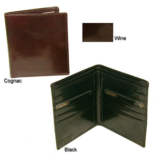 Executive Hipster Leather Wallet
