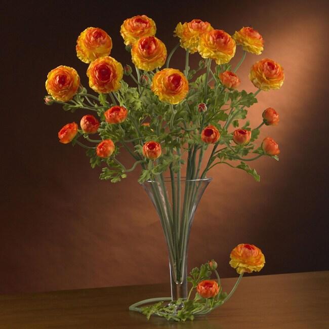 Artificial Ranunculus Stems (Set of 12)