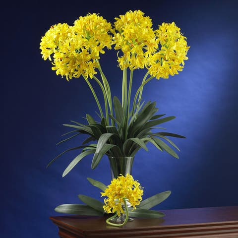 Artificial African Lily Stems (Set of 12)