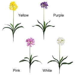Artificial African Lily Stems (Set of 12) - Thumbnail 1