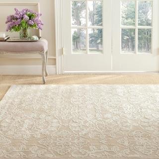 Martha Stewart by Safavieh Terrazza Ivory Cotton Rug (5' 6 x 8' 6 )