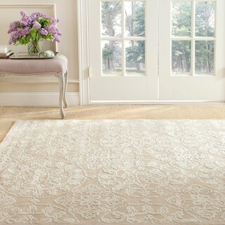 Martha Stewart Terrazza Ivory Cotton Rug (5'6 x 8'6)