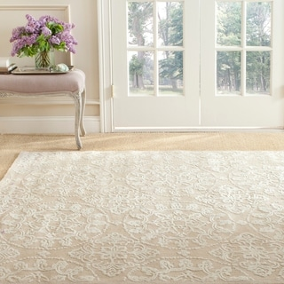 Martha Stewart by Safavieh Terrazza Ivory Cotton Rug (8'6 x 11'6)
