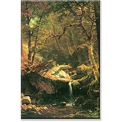 Albert Bierstadt 'The Mountain' Canvas Art - Thumbnail 0