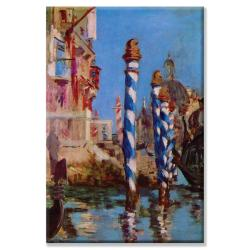Eduard Manet 'Grand Canal in Venice' Canvas Art