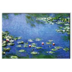"Claude Monet ""Water Lilies - White"" Canvas Art"