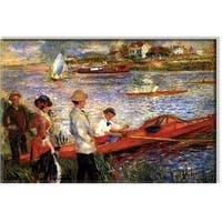 Pierre-August Renoir 'Oarsman of Chatou' Landscape Canvas Art