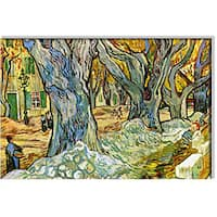Vincent Van Gogh 'Roadman' Canvas Art