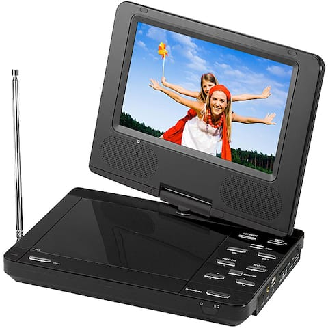 Supersonic SC-259 9-inch Portable LCD TV/ DVD Player