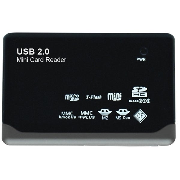 Gear Head CR4200 23-in-1 USB 2.0 Flash Card Reader