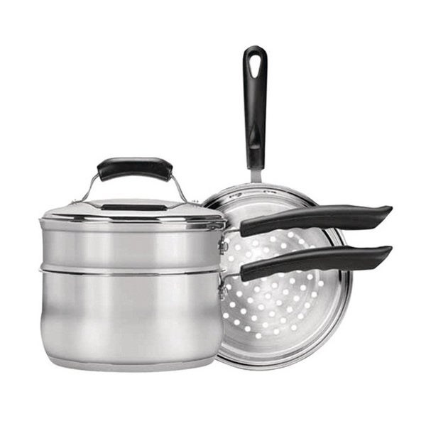 4-piece Stainless Steel Cookware Set