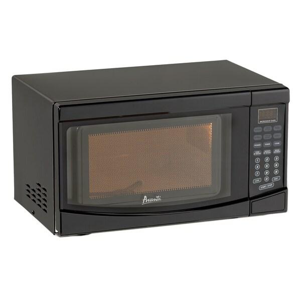 Avanti Black 0.7 cubic-foot 700-watt Microwave Oven