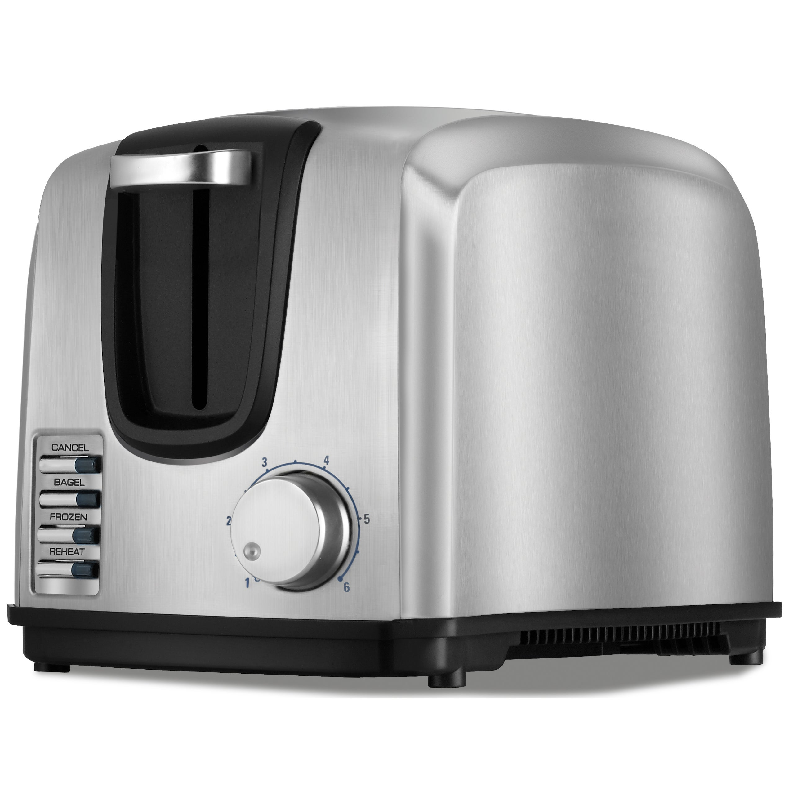 Black & Decker Chrome 2-Slice Toaster, Silver