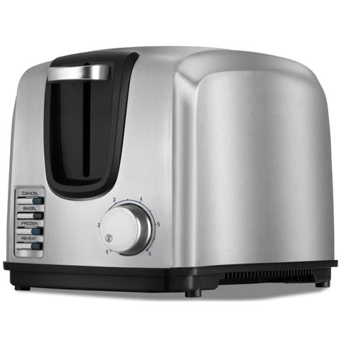 Black & Decker Chrome 2-Slice Toaster