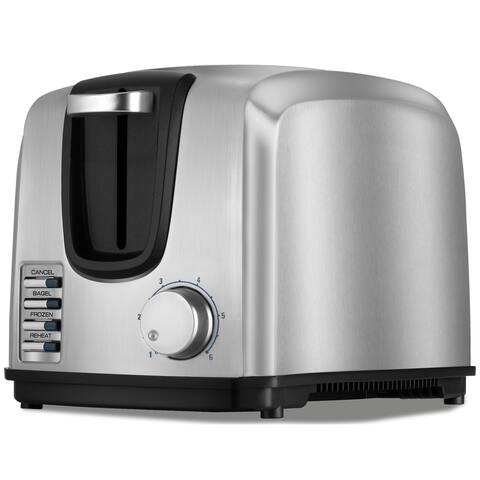 Black & Decker Chrome 2-Slice Toaster