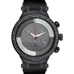Joe Rodeo Men's Black 'Master' Diamond Watch 2.2 Carats|https://ak1.ostkcdn.com/images/products/5171274/Joe-Rodeo-Mens-Black-Master-Diamond-Watch-2.2-Carats-P13009575.jpg?impolicy=medium