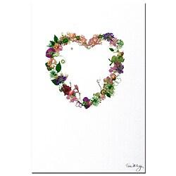Kathie McCurdy 'Heart Strings' Canvas Art