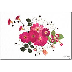 Kathie McCurdy 'Pink Cosmos' Canvas Art