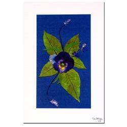 Kathie McCurdy 'Deep Purple' Canvas Art - Thumbnail 1