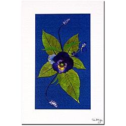 Kathie McCurdy 'Deep Purple' Canvas Art - Thumbnail 0