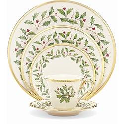 Lenox Holiday 5 Piece Place Setting|https://ak1.ostkcdn.com/images/products/5171356/Lenox-Holiday-5-Piece-Place-Setting-P13009624.jpg?impolicy=medium