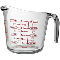 Anchor Hocking 32-oz Glass Measuring Cups (Pack of 3)