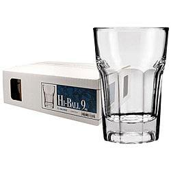 Challenger 9-oz Beverage Glasses (Pack of 12)