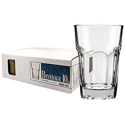 Challenger 10-oz Beverage Glasses (Pack of 12)