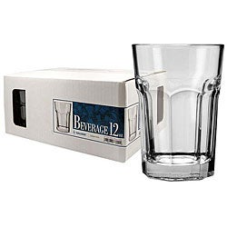 Challenger 12-oz Beverage Glasses (Pack of 12)