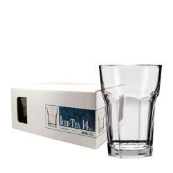 Challenger 14-oz Beverage Glasses (Pack of 12)