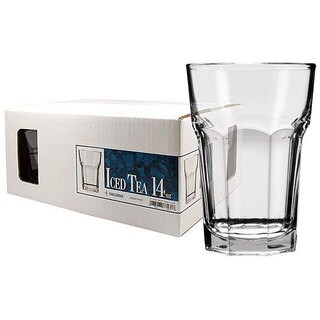 Challenger 14-ounce Iced Tea Beverage Glasses (Set of 12)