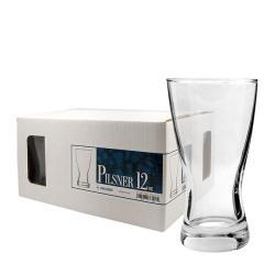 Challenger 12-oz Pilsner Glasses (Pack of 12)