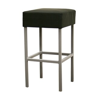 Modern Faux Leather Bar Stool by Baxton Studio