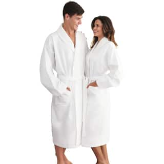 Authentic Hotel and Spa Turkish Cotton Unisex Waffle-Weave Bath Robe|https://ak1.ostkcdn.com/images/products/5171746/P13009885.jpg?impolicy=medium