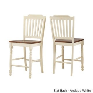 Mackenzie Counter Height Chair (Set of 2) by TRIBECCA HOME