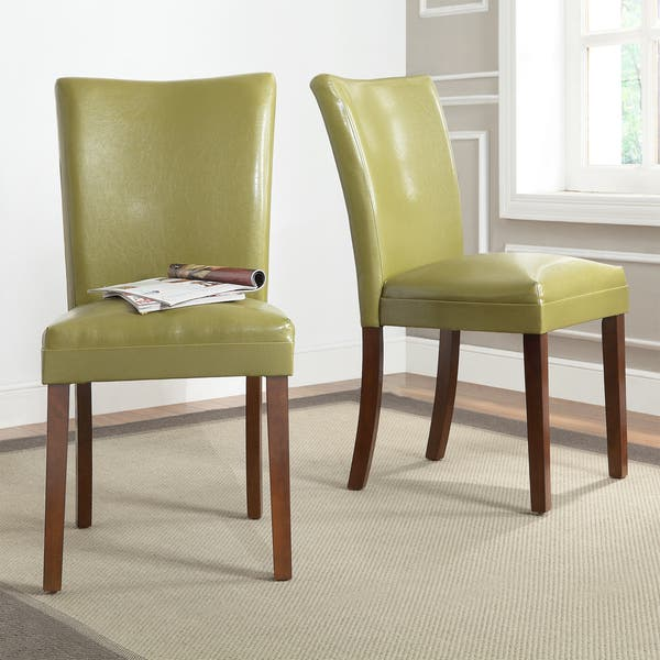 Phenomenal Shop Tribecca Home Estonia Olive Green Upholstered Dining Alphanode Cool Chair Designs And Ideas Alphanodeonline