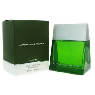 Alfred Sung Paradise Men's 3.3-ounce Eau de Toilette Spray