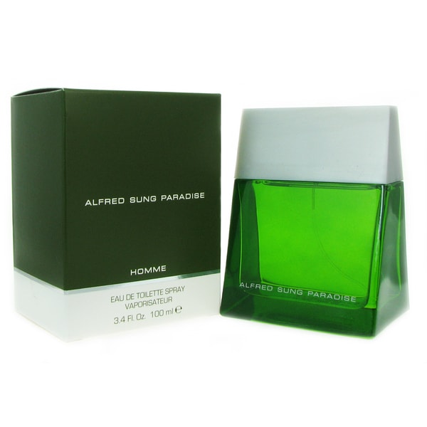 Alfred Sung Paradise Men's 3.3-ounce Eau de Toilette Spray