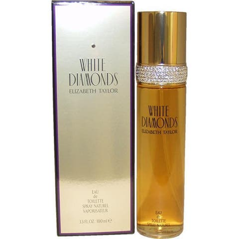 Elizabeth Taylor White Diamonds Women's 3.4-ounce Daytime Eau de Toilette Spray - Clear