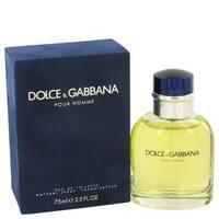 Dolce & Gabbana Men's 2.5-ounce Eau de Toilette Spray
