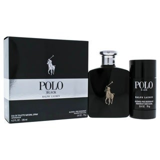 Ralph Lauren Polo Black Men's 2-piece Gift Set